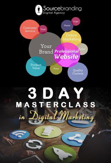 3 Day Masterclass in Digital Marketing - Sourcebranding Digital Agency