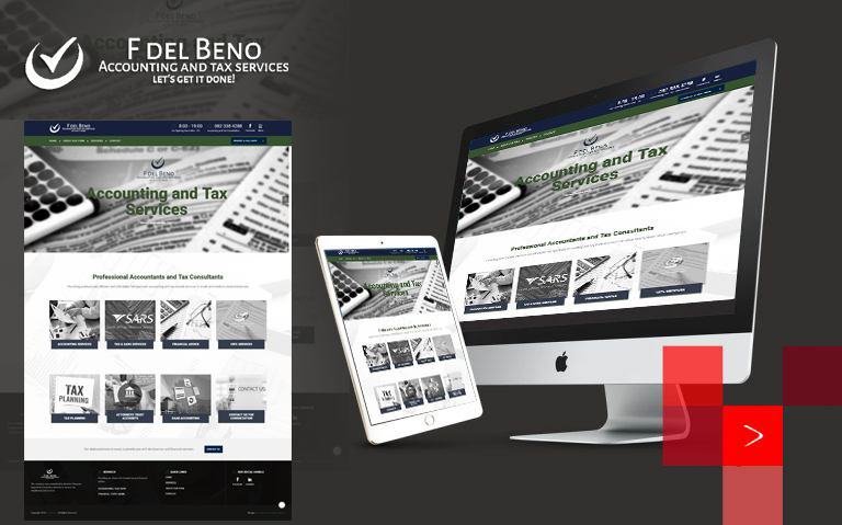 sourcebranding F del Beno Accounting and Tax Services