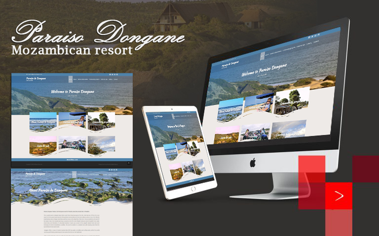 sourcebranding Paraiso Dongane Mozambican resort