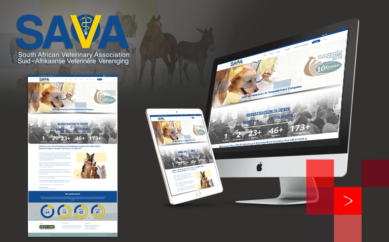 sourcebranding South African Veterinary Association's biennial event SAVA