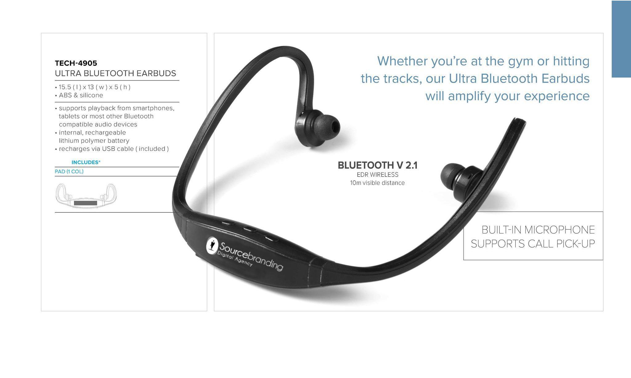 Sourcebranding Earbuds